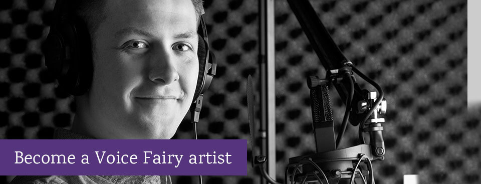 becoming a voice fairy artist banner